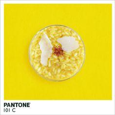 Pratos de comida inspirados na escala Pantone -> http://ale.pt/KLJETP