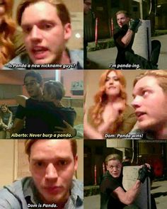 Rare type of panda: Dom Sherwood Clary Und Jace, Alec And Jace, Shadowhunters Tv Show, Shadowhunters The Mortal Instruments, Book Tv, Book Series, Fangirl, Jace Lightwood, Dominic Sherwood