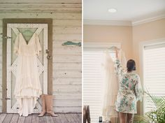 would love to have robes like this for my bridesmaids and me :)