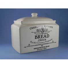 Stoneware Bread Crock   Henry-Watson-Pottery-Charlotte-Watson-Rectangular-Bread-Crock.jpg