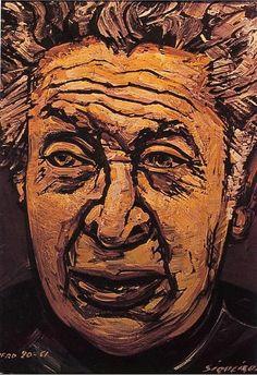 Sigueiros, David Alfaro (1896-1974) - 1961 Self-Portrait (Private Collection) by RasMarley, via Flickr