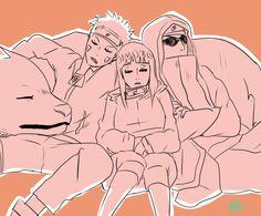 TEAM 8 aka my fav team Naruhina, Naruto Uzumaki, Anime Naruto, Manga Anime, Naruto Sasuke Sakura, Naruto Comic, Shikamaru, Hinata Hyuga, Sasunaru