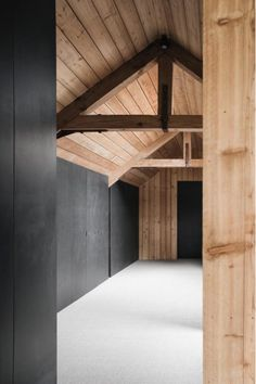 McLaren Excell is an ambitious and energetic design-led architecture practice based in Marylebone, Central London. Wood Architecture, Architecture Details, Chalkboard Decor, Timber Structure, Country Style Homes, Skylight, Colorful Interiors, My Dream Home, Brick