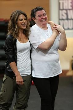 Jillian Michaels- back on season 14 of The Biggest Loser