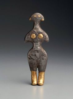 Figurine of a goddessNear Eastern, Anatolian, Early Bronze Age, 2500–2300 B.C. Museum of Fine Arts, Boston