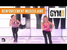 Cours gym : renfort musculaire 29 : Affiner ses cuisses - YouTube