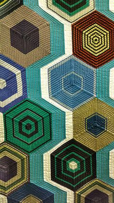 Detail, quilt from Tokyo Quilt Festival (2014) photographed by Molly Stevens. via MS on flickr
