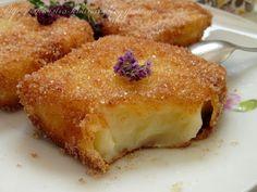 """Сегодня хочу вас познакомить с одним из самых потрясающих домашних десертов испанской кухни - """"Жареное молоко/ Leche frita """" . Очень неж..."""