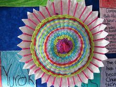 paper plate weaving {native american unit??}