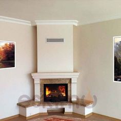 Eskimo Şömine Klasik Şömine Modelleri - Klasik tarzda döşenmiş evlerin vazgeçilmez modellerindendir. hareketli hatlara sahip, oymalı hatlara sahiptir Classic Fireplace, Black Fireplace, Faux Fireplace, Modern Fireplace, Fireplace Design, Cottage Fireplace, Living Room With Fireplace, Rustic Fireplaces, New Homes