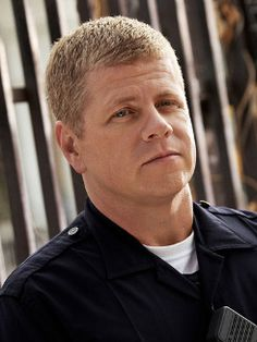 Michael Cudlitz as John Cooper on Southland.  His character is flawed but has a good soul.