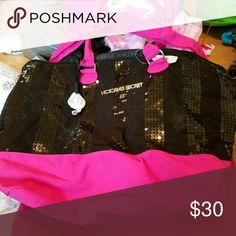 Victoria Secret over night bag nwt Brand new Victoria's Secret Bags