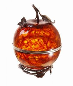 The Apple if Eden Amber Jewelry Box.