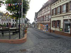 Oppenheim/Rheinland Pfalz,  Krämerstrasse am Marktplatz