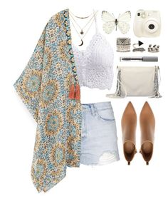 """""""Festive fever"""" by day-antero ❤ liked on Polyvore featuring Topshop, Charlotte Russe, MANGO, Zara, Polaroid, UGG Australia, Forever 21, BBrowBar, mango and forever21"""