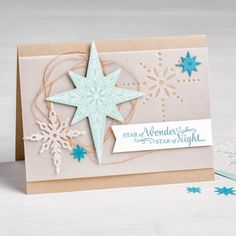 Star of Light Photopolymer Bundle By Stampin' Up!