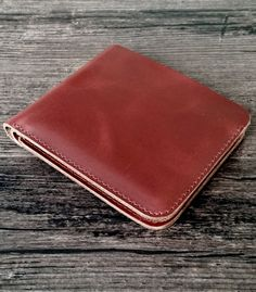 Women's leather wallet, made of genuine cow leather, handmade production. Perfect gift for a women, available in 4 different colors on our Etsy shop. Shipped from France all around the world Wallets For Women Leather, Leather Accessories, Cow Leather, Different Colors, Leather Wallet, France, Etsy Shop, Red, Handmade
