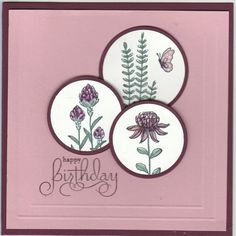 CAS370 Flowering Fields by Kathy LeDonne - Cards and Paper Crafts at Splitcoaststampers