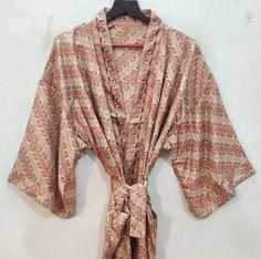 Silk Robe Long, Long Kimono, Kimono Dress, Silk Kimono, Floral Kimono, Indian Silk Sarees, Pure Silk Sarees, Festival Outfits, Festival Clothing