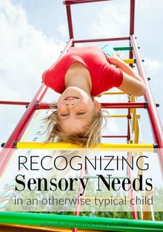 Every child has sensory needs. Some children need the input more than others and some are triggered into behaviors with certain inputs. It is important to be able to recognize these sensory needs in an otherwise typical child. Sensory Play Recipes, Sensory Diet, Sensory Activities, Childcare Activities, Family Activities, Parenting Toddlers, Parenting Hacks, Sensory Issues In Toddlers, Parenting Styles