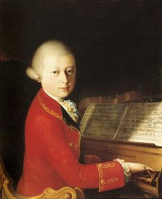 Mozart... my favorite composer to sing