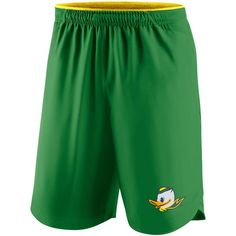 Oregon Ducks Nike 2017 Player Vapor Performance Shorts - Apple Green