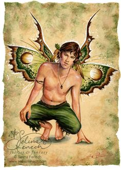 Acorn - There aren't enough male fae pictures out there...