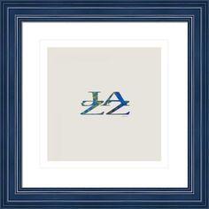 jazz letter art, by  fractal mandala art