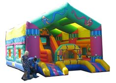 Lost Temple Jumping Castle