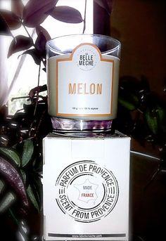 Mikael Heitz, gagnant au #JJ proposé par @labellemeche nous a envoyé une photo de sa bougie au parfum melon ! Mmmhm ça donne envie...