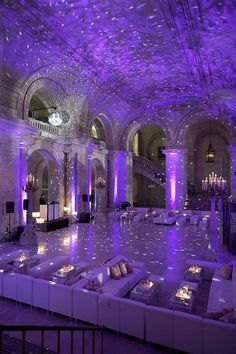 Create this magical effect at your wedding with simple uplighting and a mirror ball floor light. Check out our site for everything you need!