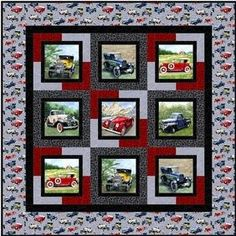 Nice t-shirt quilt pattern Quilt Block Patterns, Quilt Blocks, T Shirt Quilt Pattern, Quilt Sets, Quilting Projects, Quilting Designs, Quilting Ideas, Patchwork Quilting, Fabric Panels For Quilting