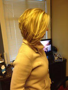 Medium bob hairstyle. If I go short again