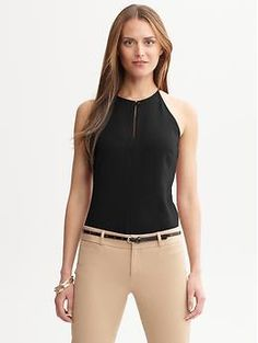 Holly keyhole tank | Banana Republic