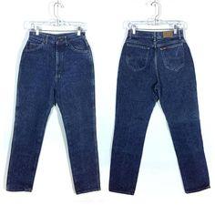 80s Allison Daily Blue Soft Elastic Waist Pants 1112