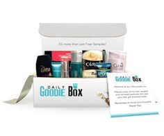 Sign up to receive a FREE Goodie Box full of awesome samples! Just enter your name and email address to get your freebie box in the mail.