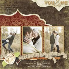 "you & me | really pretty design | the ""tied"" ribbon symbolizes union 