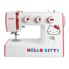 I might learn to sew if I had this. Hello Kitty 15822 Sewing Machine