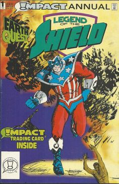 Legend of the Shield Annual comic issue 1