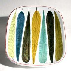 the late post war swedish designer Stig Lindberg designed beautiful ceramics.                                                                                                                                                                                 More
