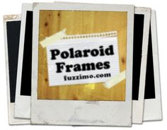 blank polaroid frames - free download