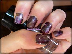 Nail art manicure galaxy with Taurus constellation // Manicura galaxia con la constelación de Tauro