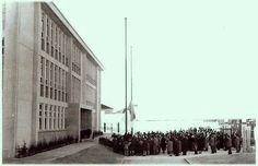 Inauguração do Externato Frei Luis de Sousa em 1956