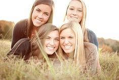 Four sisters.....add one in the center there, and this could work for us :)