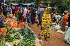 Vegetables in the market, Lushoto, Usambara Mountains, Tanzania