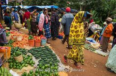 Vegetables in the market, Lushoto, Usambara Mountains, Tanzania