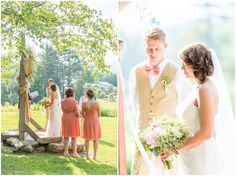 Tom and Katie: Pink Blooms at Alerin Barn, Vermont