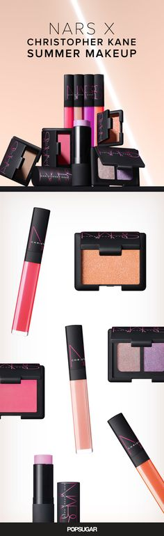 See every gorgeous makeup item from Nars Cosmetics' Summer collection with Christopher Kane!
