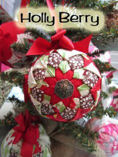 Folded Ribbon Ornament Pattern | Just Sponge It: Folded Fabric Ornament Kit is Here!