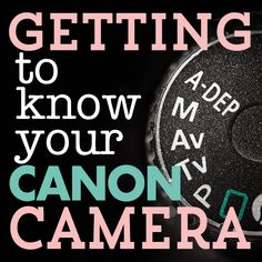 Daily Mom » Getting to Know Your CANON Camera: DSLR Buttons